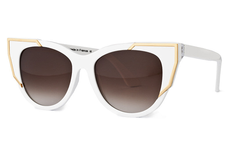 Thierry Lasry - Butterscotchy Sunglasses White & Gold (000)