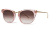 Thierry Lasry - Hinky Sunglasses Translucent Pink & Gold (1654)