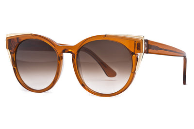 Thierry Lasry - Monogamy Sunglasses Translucent Light Brown & Gold (819)