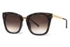 Thierry Lasry - Narcissy Sunglasses Brown Horn Pattern & Gold (43)