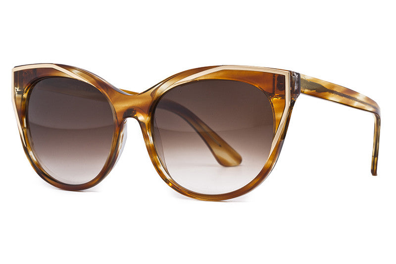 Thierry Lasry - Polygamy Sunglasses Black & Gold (101)