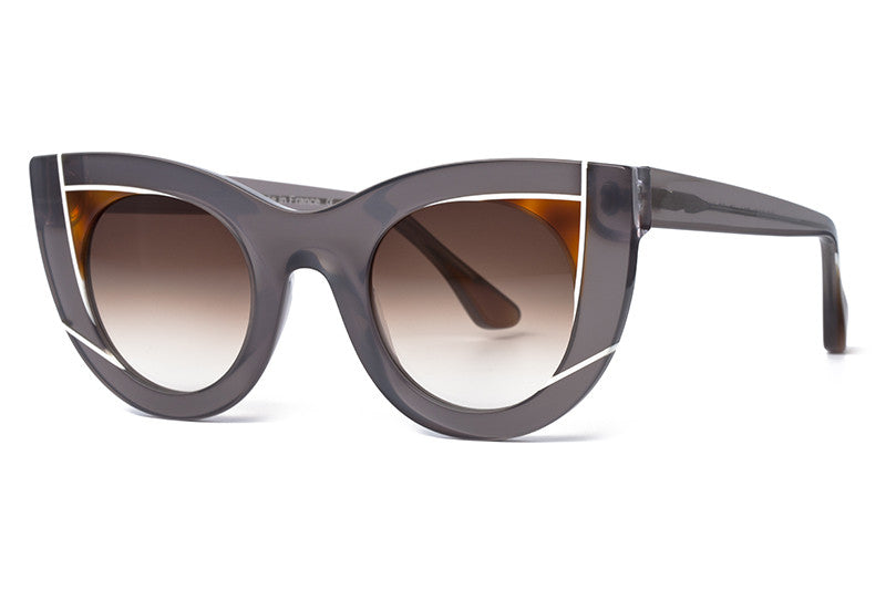 a3374ad6672 Thierry Lasry - Wavvvy Sunglasses Translucent Grey   Tortoise ...