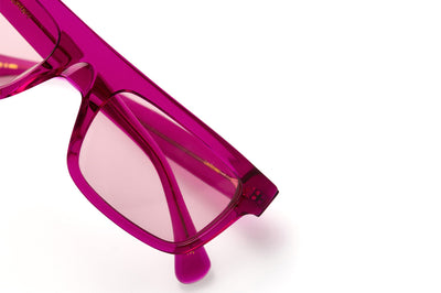 Kaleos Eyehunters - Lachance Sunglasses Hot Pink