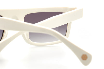 Kaleos Eyehunters - Lachance Sunglasses White
