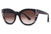 Thierry Lasry - Nevermindy Black & Multicolor Pattern (V628)