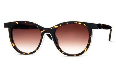 Thierry Lasry - Vacancy Sunglasses Black, Dark Tortoise & White (724)