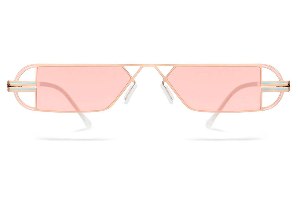 Lool Eyewear - Vega Sunglasses Gold/Peach