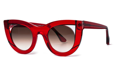 Thierry Lasry - Wavvvy Sunglasses Translucent Red & Clear