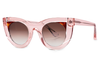 Thierry Lasry - Wavvvy Sunglasses Translucent Pink & Tortoise (1654)