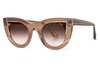 Thierry Lasry - Wavvvy Sunglasses Translucent Light Brown & Tortoise (864)