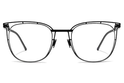 Lool Eyewear - Wired Eyeglasses Matte Black