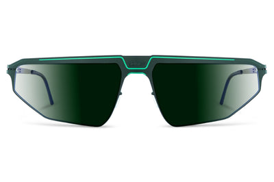 Lool Eyewear - Beam Sunglasses Dark Green