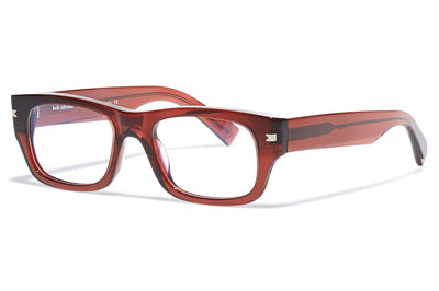 Bob Sdrunk - Bruce Eyeglasses Transparent Red