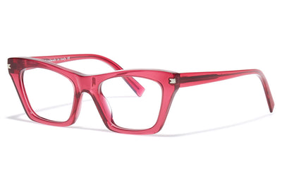 Bob Sdrunk - Cassandra Eyeglasses Transparent Red