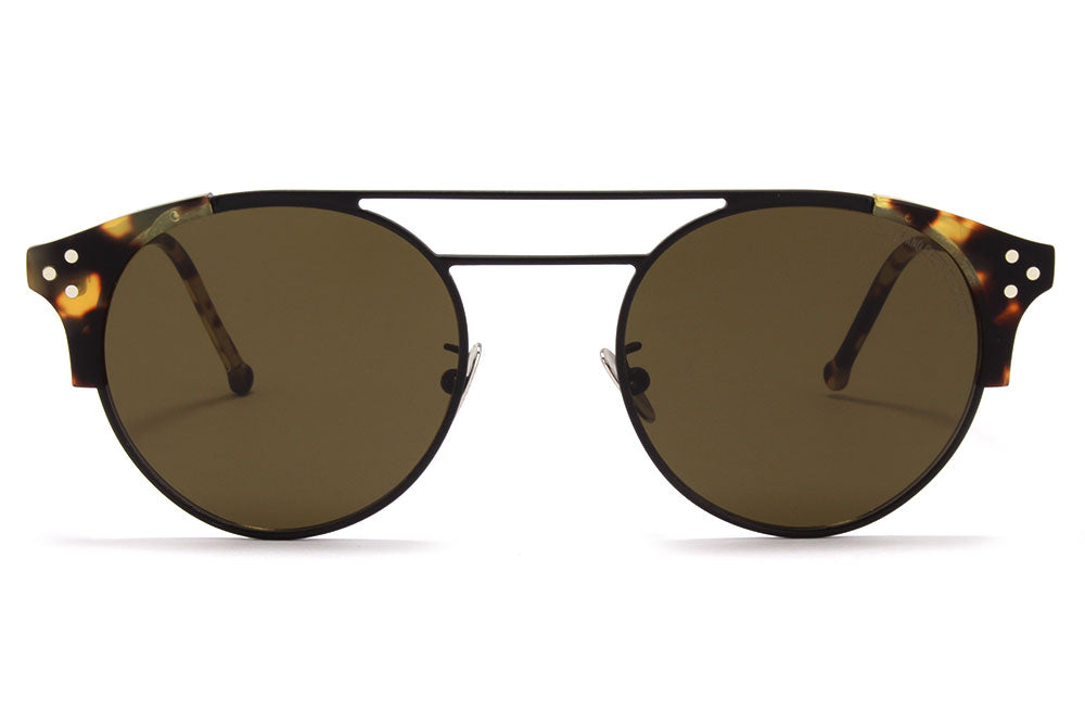 Cutler & Gross - 1271 Sunglasses Black and Camouflage