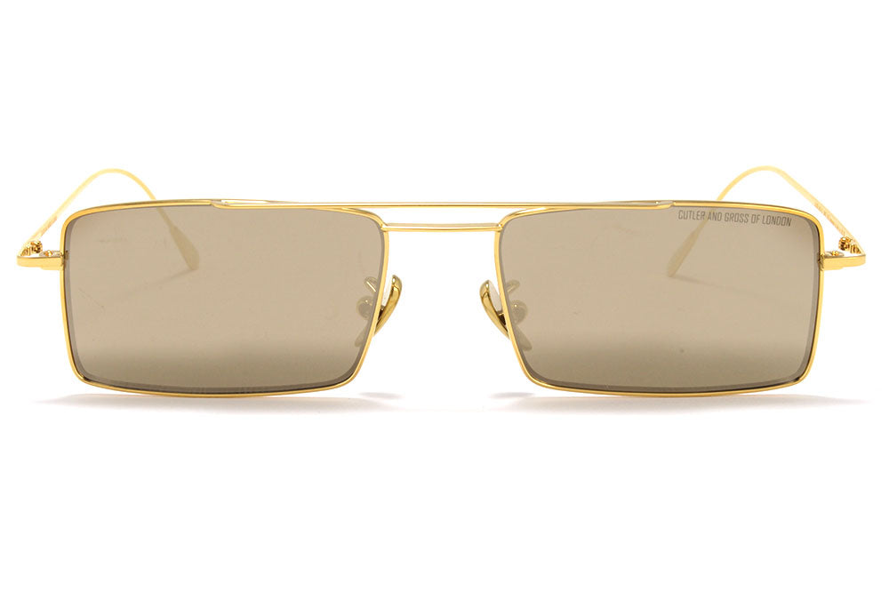Cutler and Gross - 1308 Sunglasses Gold and Super Ivory
