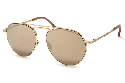 Cutler and Gross - 1309 Sunglasses Gold with Gold