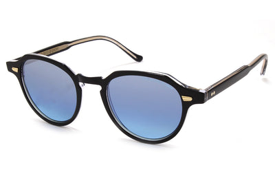 Cutler and Gross - 1314 Sunglasses Black on Crystal