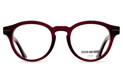 Cutler & Gross - 1338 Eyeglasses Bordeaux Red