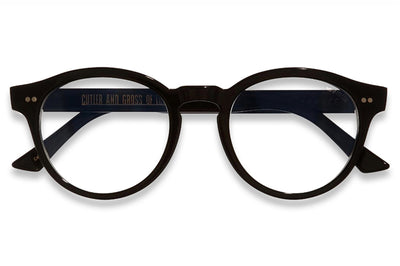 Cutler & Gross - 1378 Eyeglasses Black on Blue