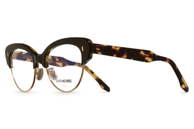 Cutler & Gross - 1351 Eyeglasses Black Taxi & Camo & Gold