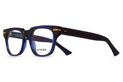Cutler & Gross - 1355 Eyeglasses Midnight Rambler Blue