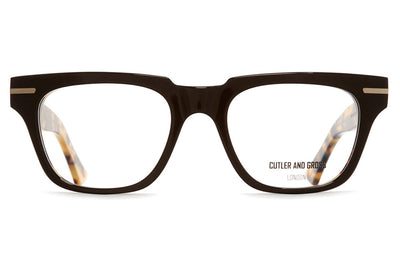 Cutler & Gross - 1355 Eyeglasses Black Taxi & Camo