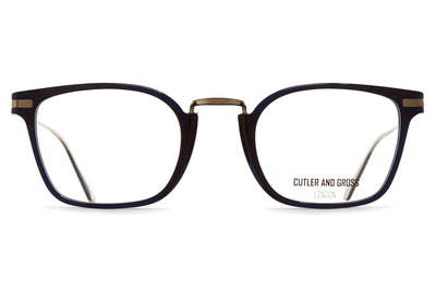 Cutler & Gross - 1358 Eyeglasses Midnight Rambler Blue