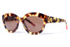 Bob Sdrunk Sunglasses - Ellie Honey Tortoise