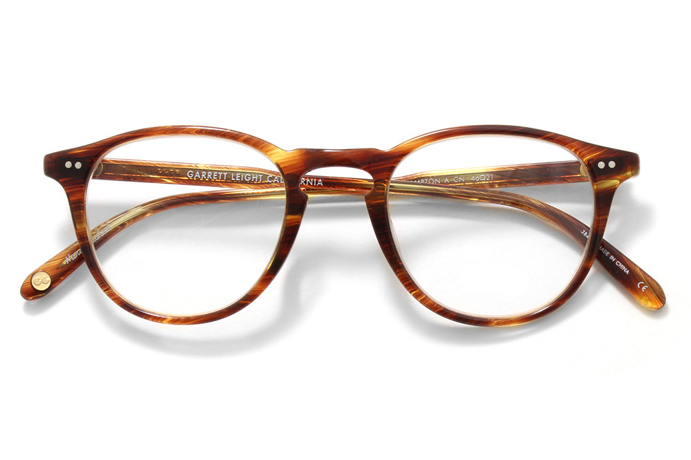 Garrett Leight® - Hampton Eyeglasses Chestnut