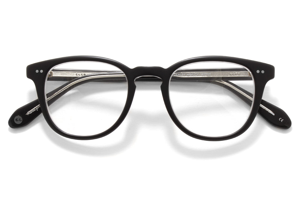 Garrett Leight® - McKinley Eyeglasses Matte Black Laminate Crystal
