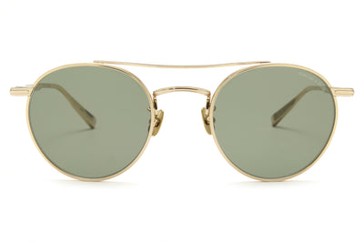Rimowa x GLCO Sunglasses Gold with Semi-Flat Green Lenses