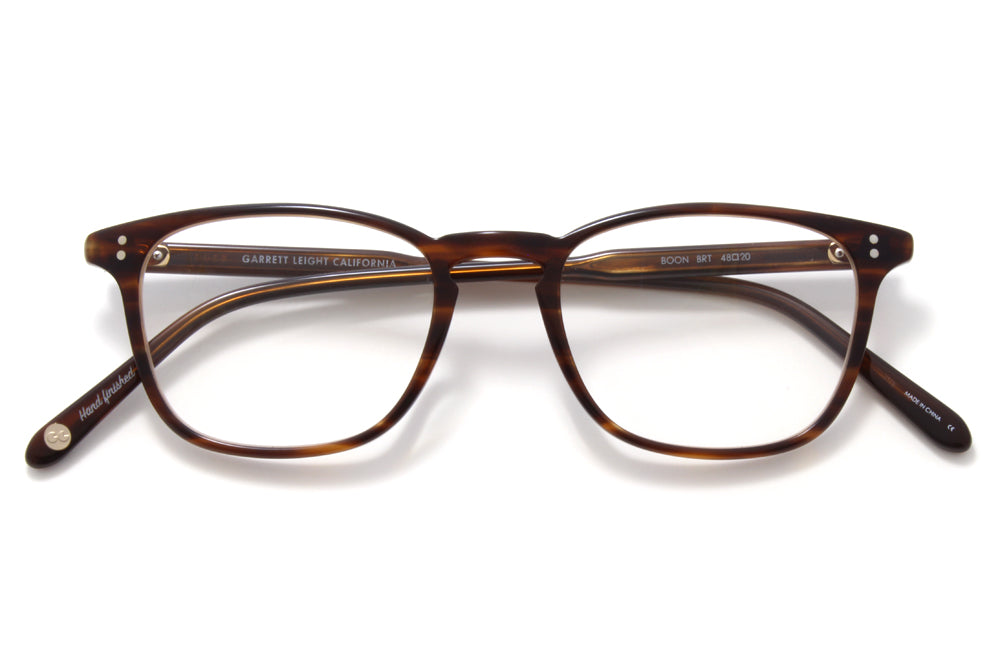 Garrett Leight - Boon Eyeglasses Brandy Tortoise