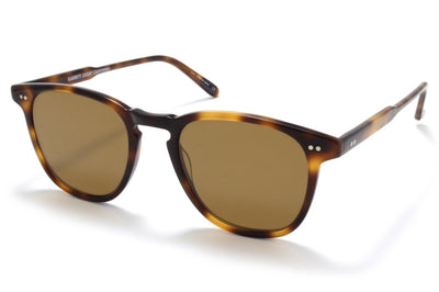 Garrett Leight - Brooks Sunglasses Classic Brown Tortoise with Semi-Flat Pure Coffee Lenses