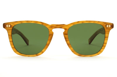 Garrett Leight - Brooks X Sunglasses Butterscotch with Pure Green Lenses