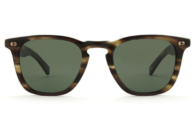Garrett Leight - Brooks X Sunglasses Kodiak Tortoise with Pure G15 Lenses