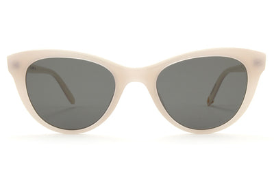 GLCO x Clare V. Sunglasses Ivoire with Flat G15 Lenses