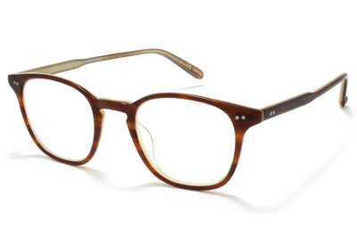 Garrett Leight - Clark Eyeglasses Matte Brown Tortoise Laminate