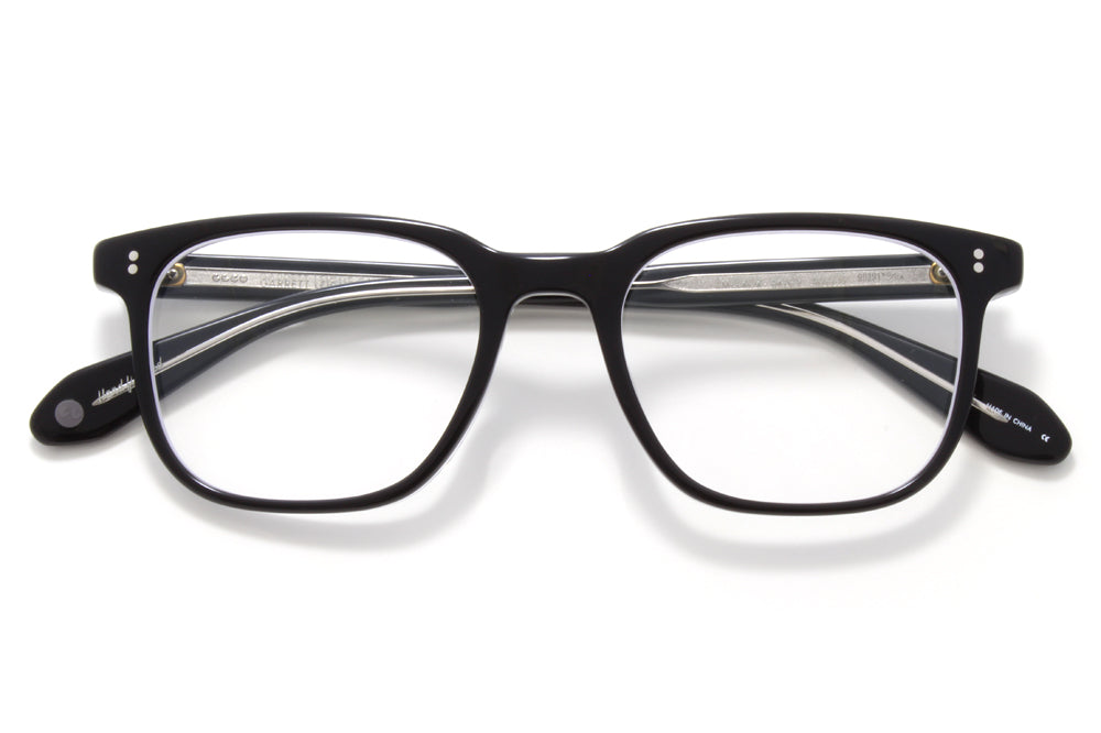 Garrett Leight - Emperor Eyeglasses Black Laminate Crystal
