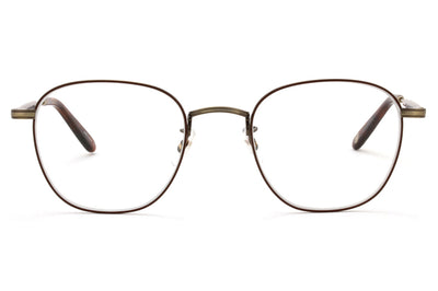 Garrett Leight - Grant M Eyeglasses Antique Gold II-Dark Honey Tortoise