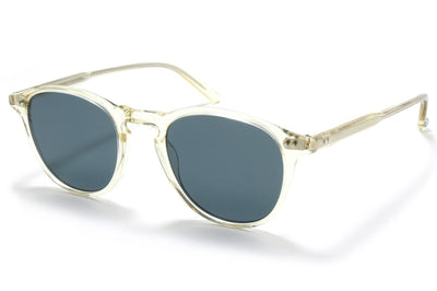 Garrett Leight® - Hampton Sunglasses Pure Glass with Semi-Flat Blue Smoke Lenses