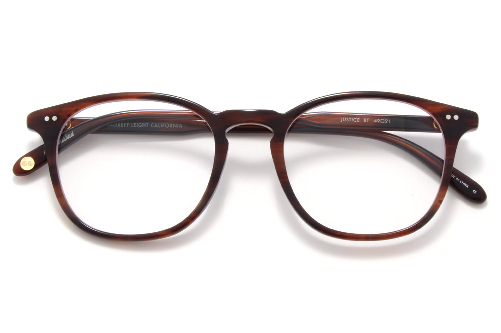 Garrett Leight - Justice Eyeglasses Red Tortoise