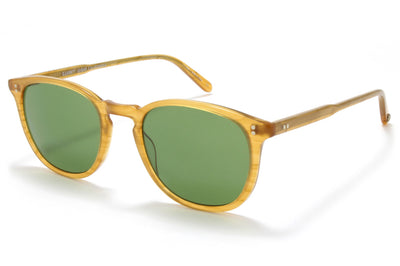 Butterscotch with Pure Green Glass Lenses