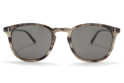 Garrett Leight - Kinney Sunglasses G.I Tortoise Laminate with Grey Polarized Glass Lenses