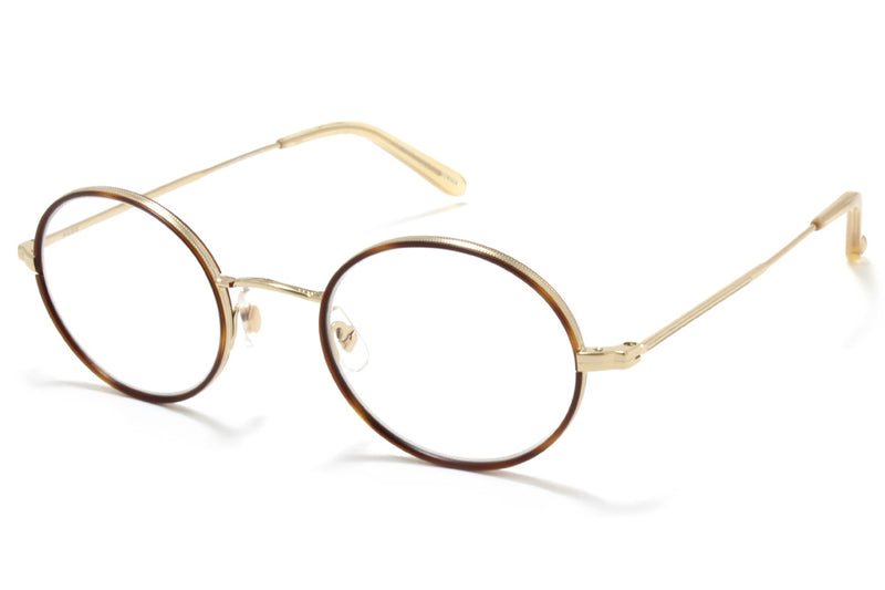 Garrett Leight® - Linden Eyeglasses Burgundy-Rose Gold-Nude