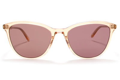 Garrett Leight - Magician Sunglasses Pink Crystal with Semi-Flat Lilac Lenses