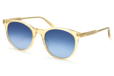 Blonde with Semi-Flat Cobalt Gradient Lenses