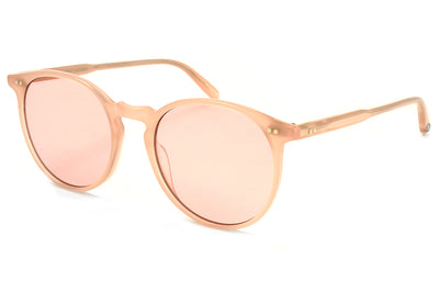 Garrett Leight - Morningside Sunglasses Flamingo with Semi-Flat Bubble Pink Lenses