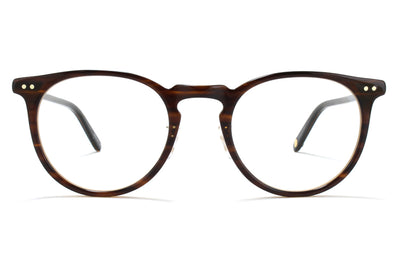 Garrett Leight - Ocean Eyeglasses Brandy Tortoise-Brushed Gold