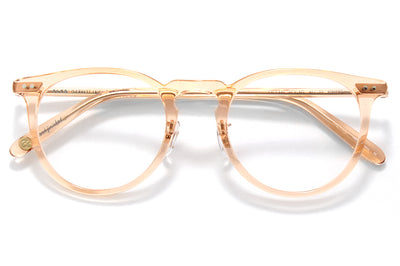 Garrett Leight - Ocean Eyeglasses Pink Crystal- Rose Gold